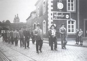 Aufzug der Schützen in der NS-Zeit
