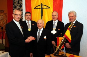 Theo Kutsch 50 Jahre Mitglied der Gesellschaft